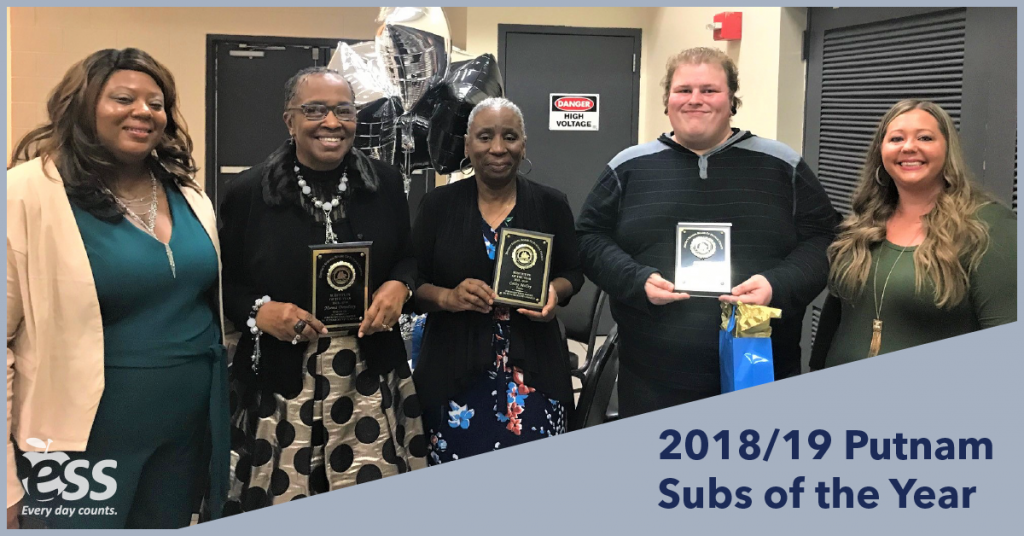Putnam Subs of the Year 2019